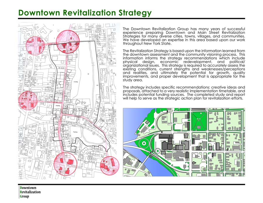 Downtown Revitalization Covers Photo : Welcome to the downtown revitalization group